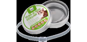 Collier naturel pour chat contre les puces et les tiques